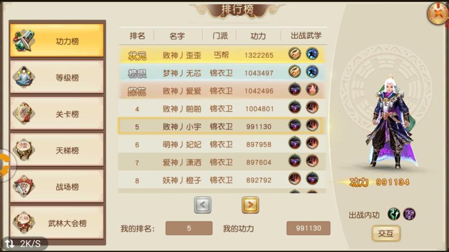 【80级3】男锦医卫号
