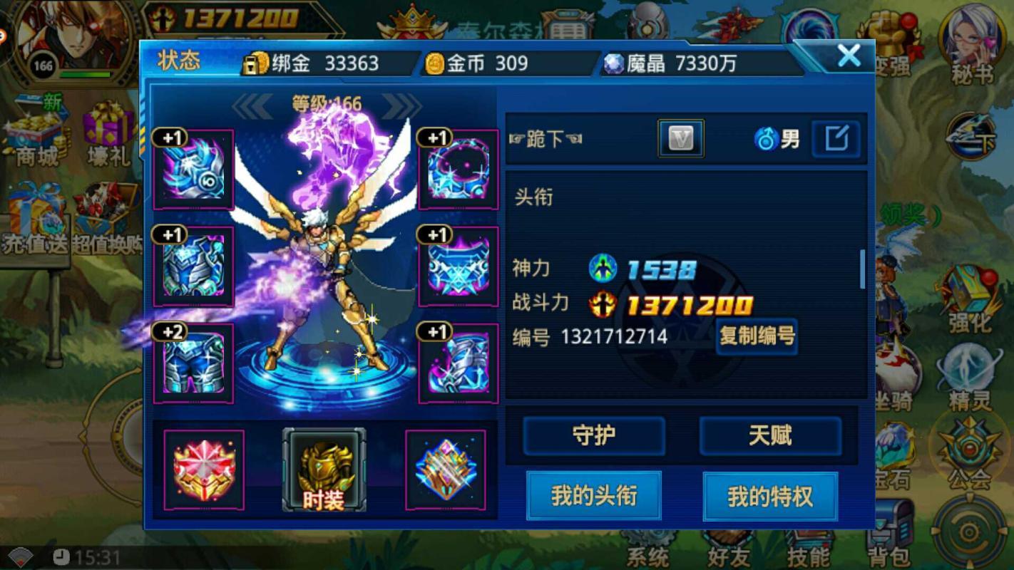 时空猎人【九游账号】【审判者.166级】V6老号潜力号