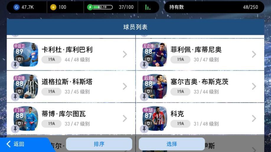 【100级】实况足球21黑毕业阵容C罗梅西